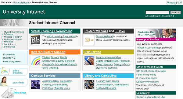 Teach ICT - GCSE ICT - Intranet and Extranet